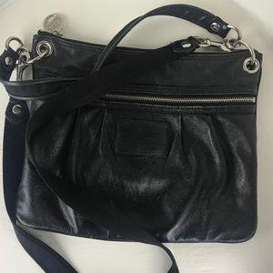 Coach Poppy Black Crossbody Bag